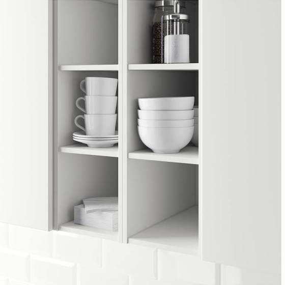IKEA HÖRDA, Regal, 200x600x370 cm, weiß Küche Pinterest - küchen regale ikea