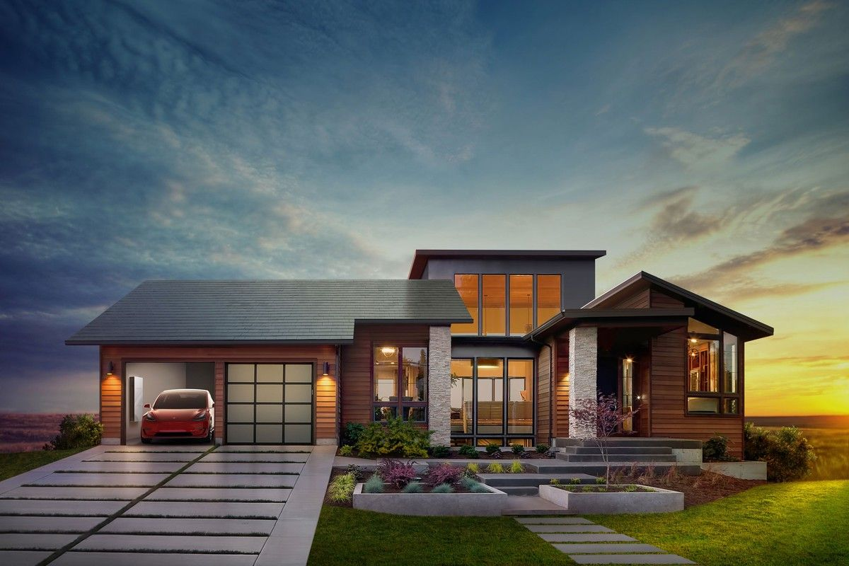 Alan Mascord Design Associates Tesla Solar Roof Tesla Solar Roof Featured On Plan 1410 The Norcutt Solar Roof Shingles Tesla Solar Roof Solar Roof