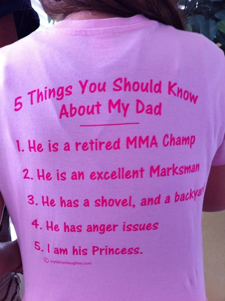 10 Things You Should Know About Dating My Daughter