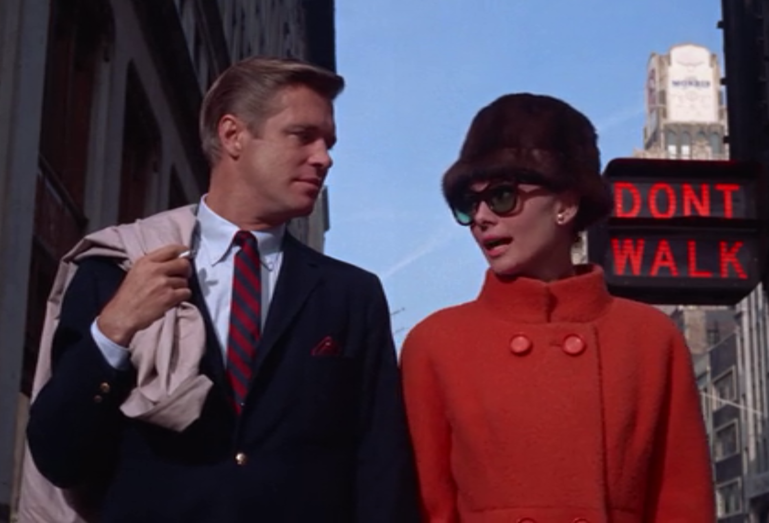 Breakfast at Tiffany's 1961 starring Audrey Hepburn and George Peppard (1960's FILM FASHION)
