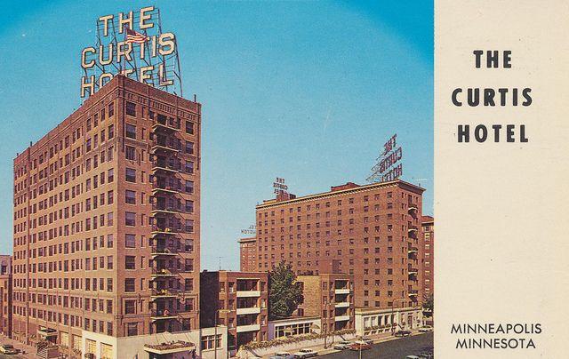 curtis hotel minneapolis minnesota minnesota postcards rh pinterest com