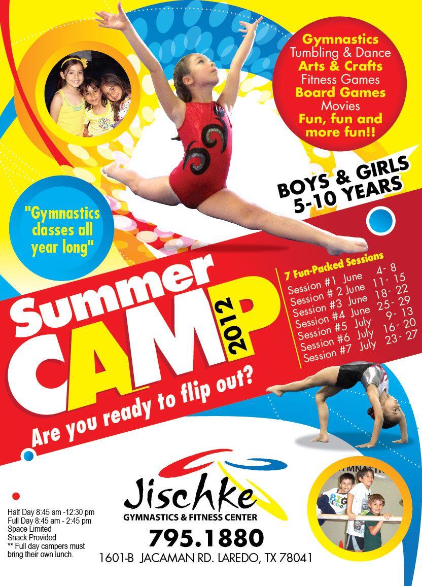 summer camp flyer design