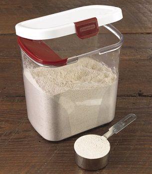 progressive flour keeper jb ab flour container sugar storage rh pinterest com