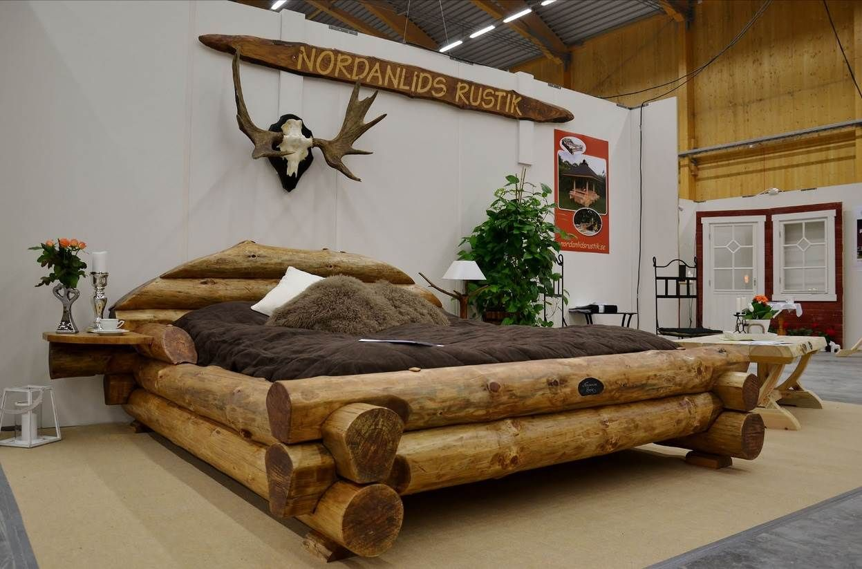 15 Rustic Bed Design Ideas u2013 Woodworking