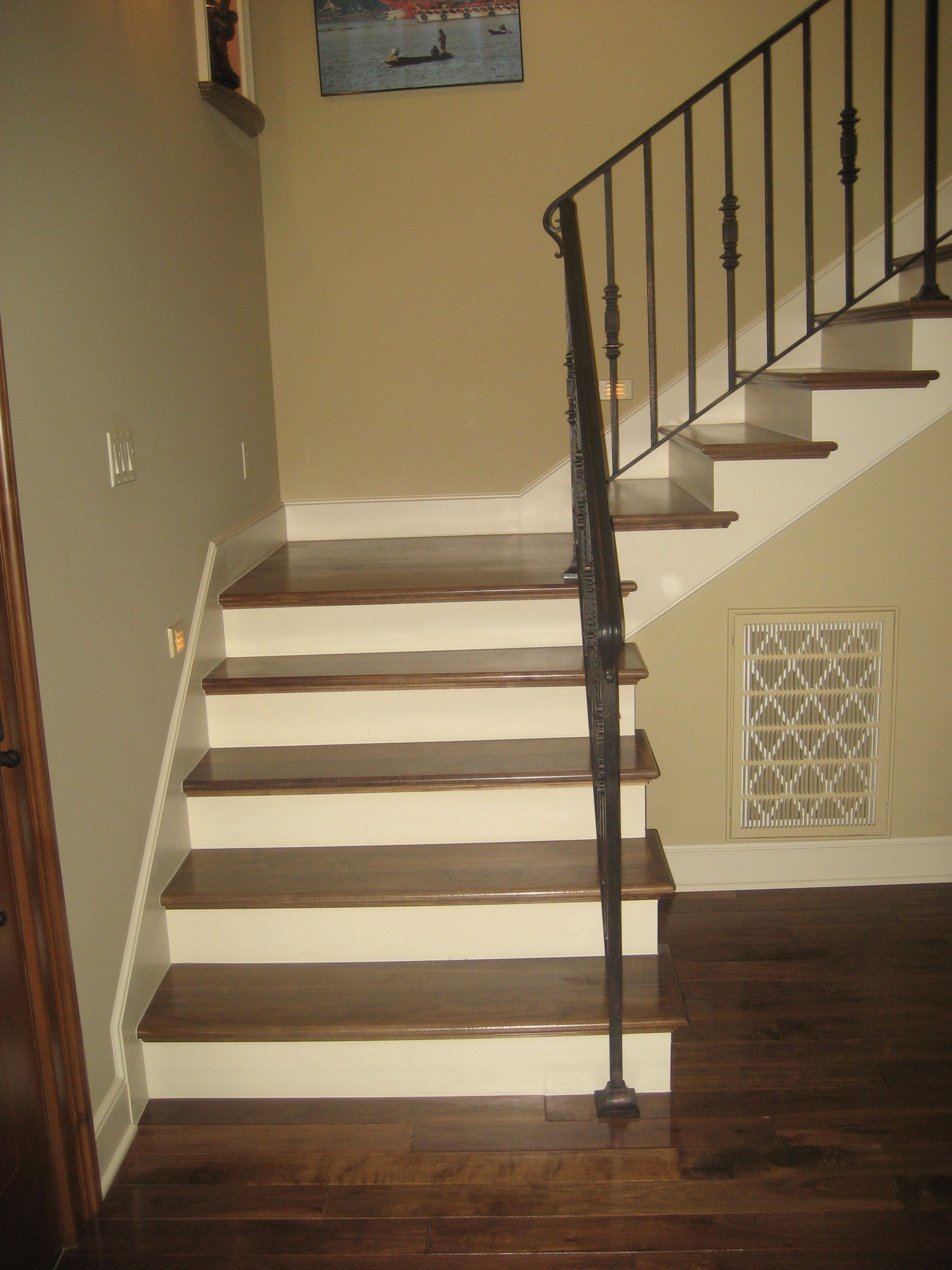 We Install Interior Wood Stairs, Wood And Wrought Iron Stair Railing Systems  And Exterior Railings.