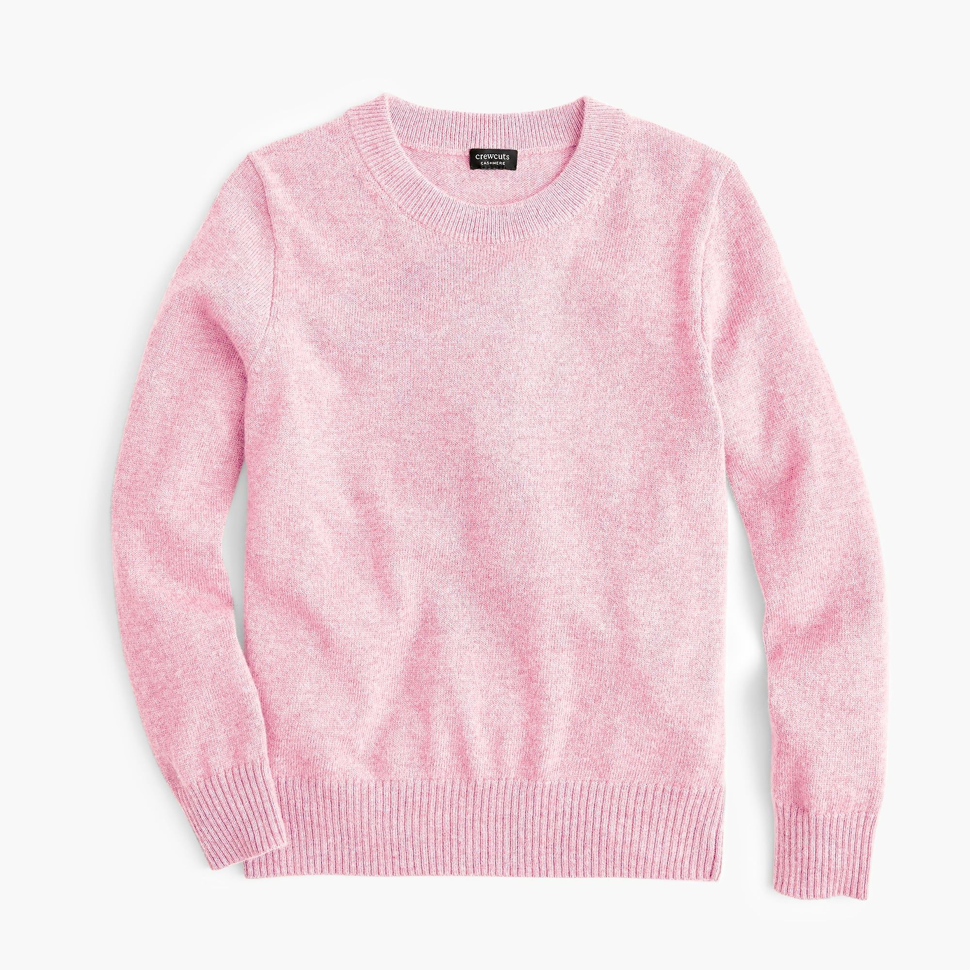 cc79252db Kids' cashmere crewneck sweater | Addie ❤ Brently | Boys sweaters ...