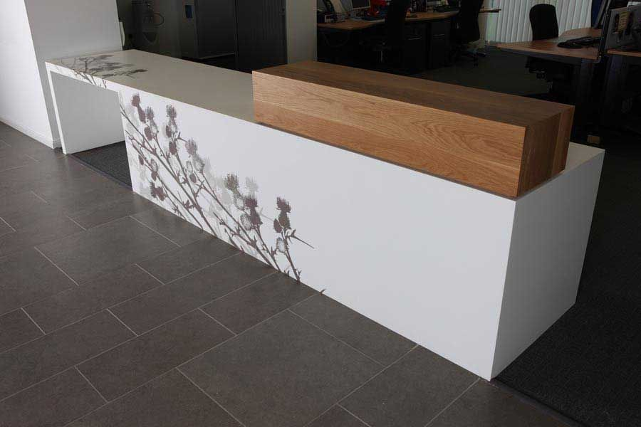 Corian modern designed stylish reception desk RT-132 | Shop ...