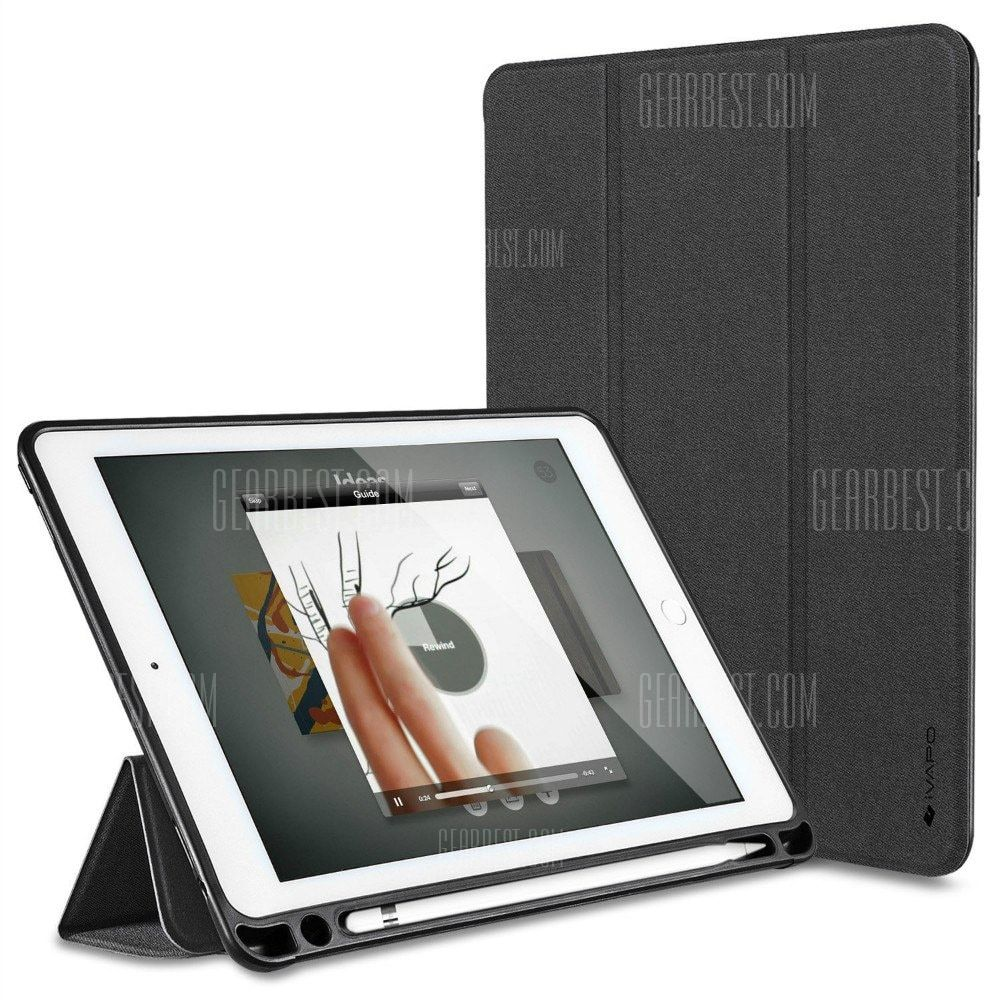 Ipad Pro 9.7 Case With Pencil Holder Vapo For Ipad Pro 97 Case With Pencil Holder And Stand  Pencil