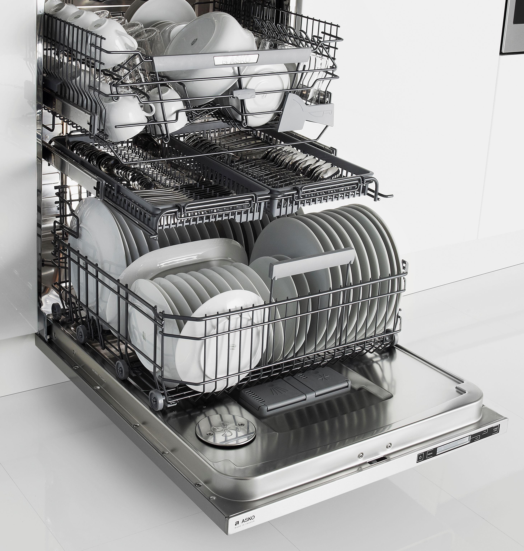 Asko S Newest Three Rack Dishwasher D5644xlcs