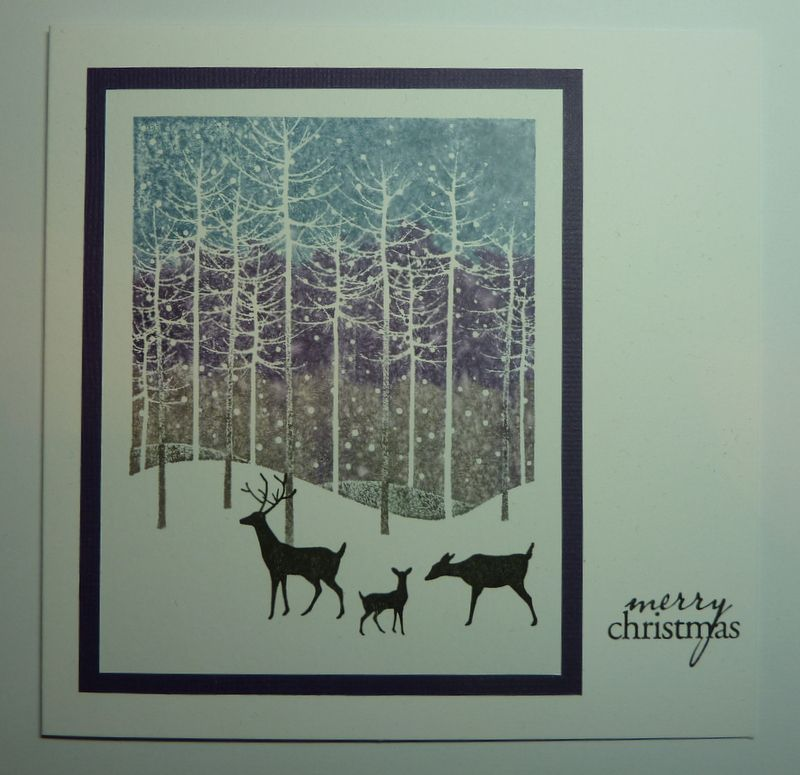 Pin By Mona Porter On My Christmas Cards Tree Cards Memory Box Dies Penny Black