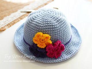 Amigurumi Tini Mini Kız Yapılışı-Free Pattern Tini Mini Dolls - Tiny Mini Design #crochettoysanddolls