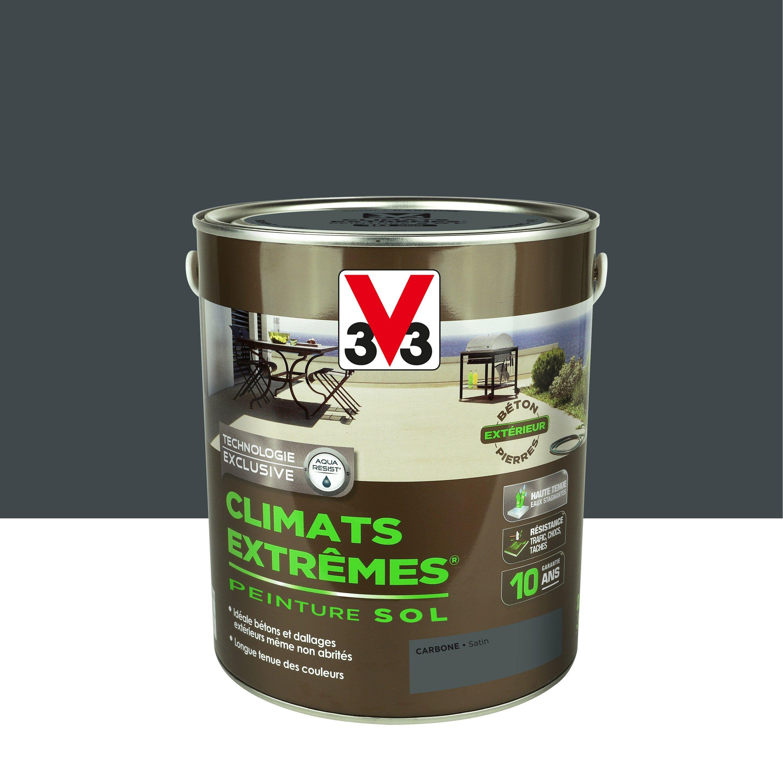 Peinture Sol Extérieur Climats Extrêmes V33 Gris Carbone