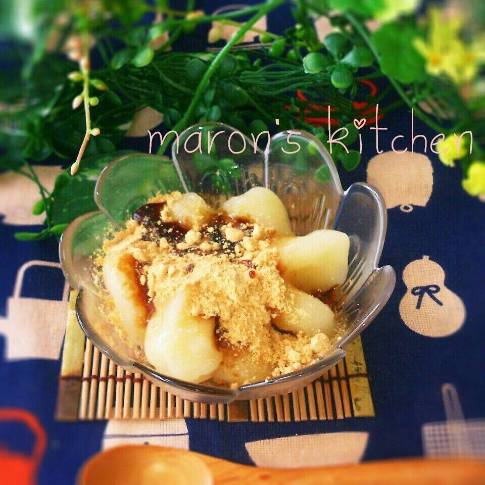 材料2つ!ヘルシー♪豆腐のお団子デザート by ♪♪maron♪♪