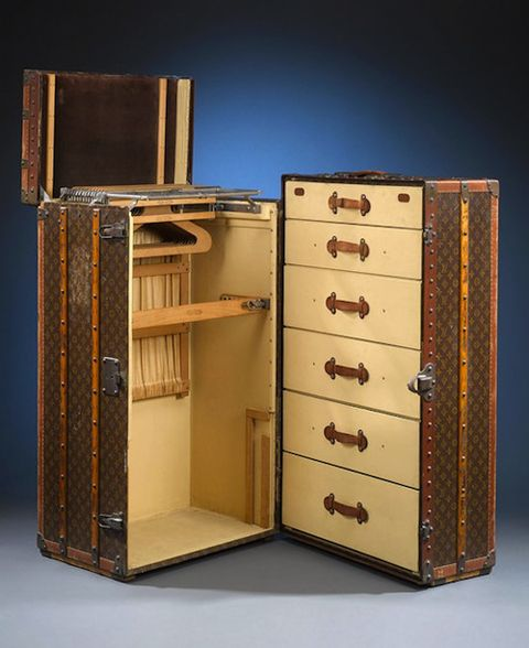 Louis Vuitton Suitcase Wardrobe A Thing Of Indecent Dreams And Desires Vintage Louis Vuitton Louis Vuitton Trunk Luxury Wardrobe