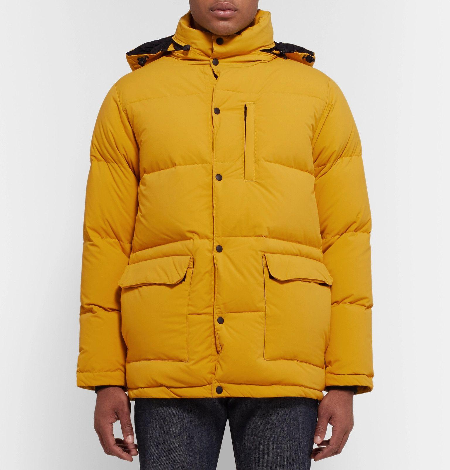 8ef581ebb02 Aspesi - Quilted Nylon Hooded Down Jacket