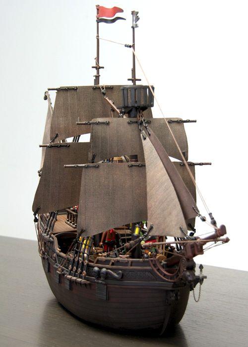 3940 playmobil pirate ship custom bateau pirate custom. Black Bedroom Furniture Sets. Home Design Ideas