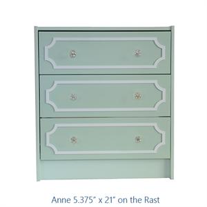 Show details for O'verlay Kit for IKEA RAST (3 drawer) $36