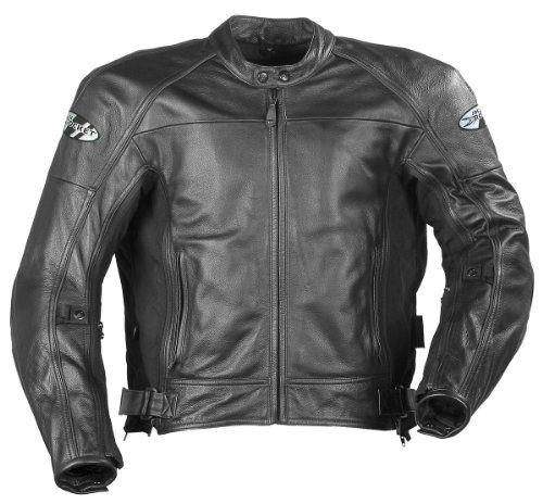 Joe Rocket Mens Sonic 2 0 Leather Motorcycle Jacket Black Black Extra Large Tall Xl Tall