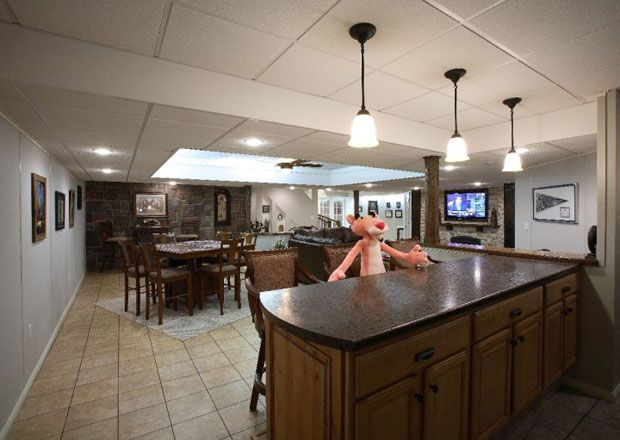 basement finishing and remodeling boston ma owens corning finished rh pinterest com how much to finish a basement how much to finish a basement in colorado