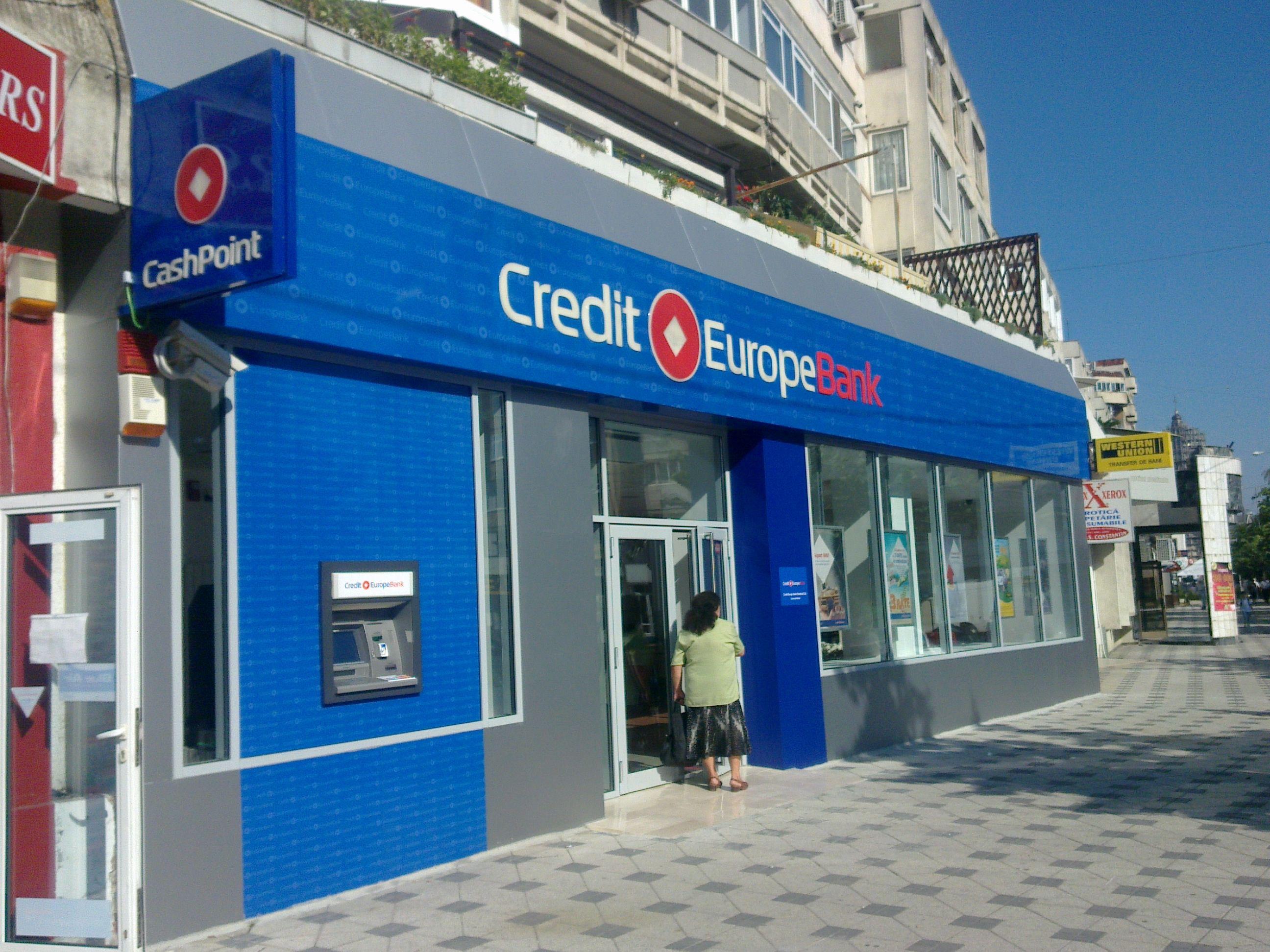 Credit Europe Bank Bacau Outdoor Decor Decor Outdoor