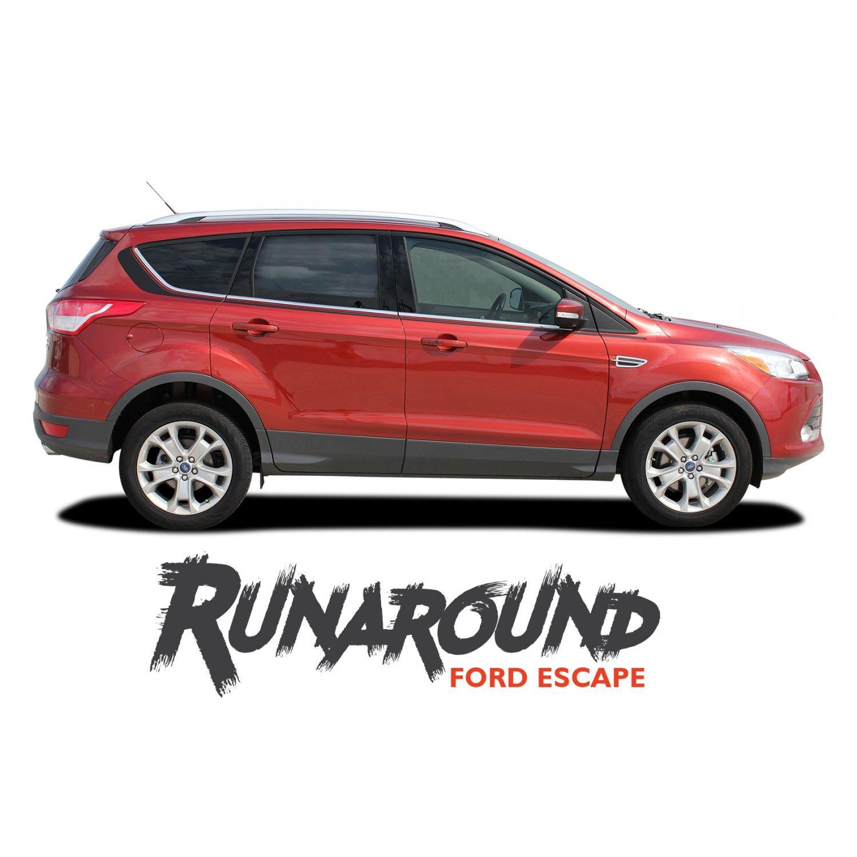 Ford Escape Runaround Upper Body Line Vinyl Graphics Decal Stripe