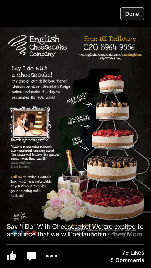Wedding (cheese!)cake