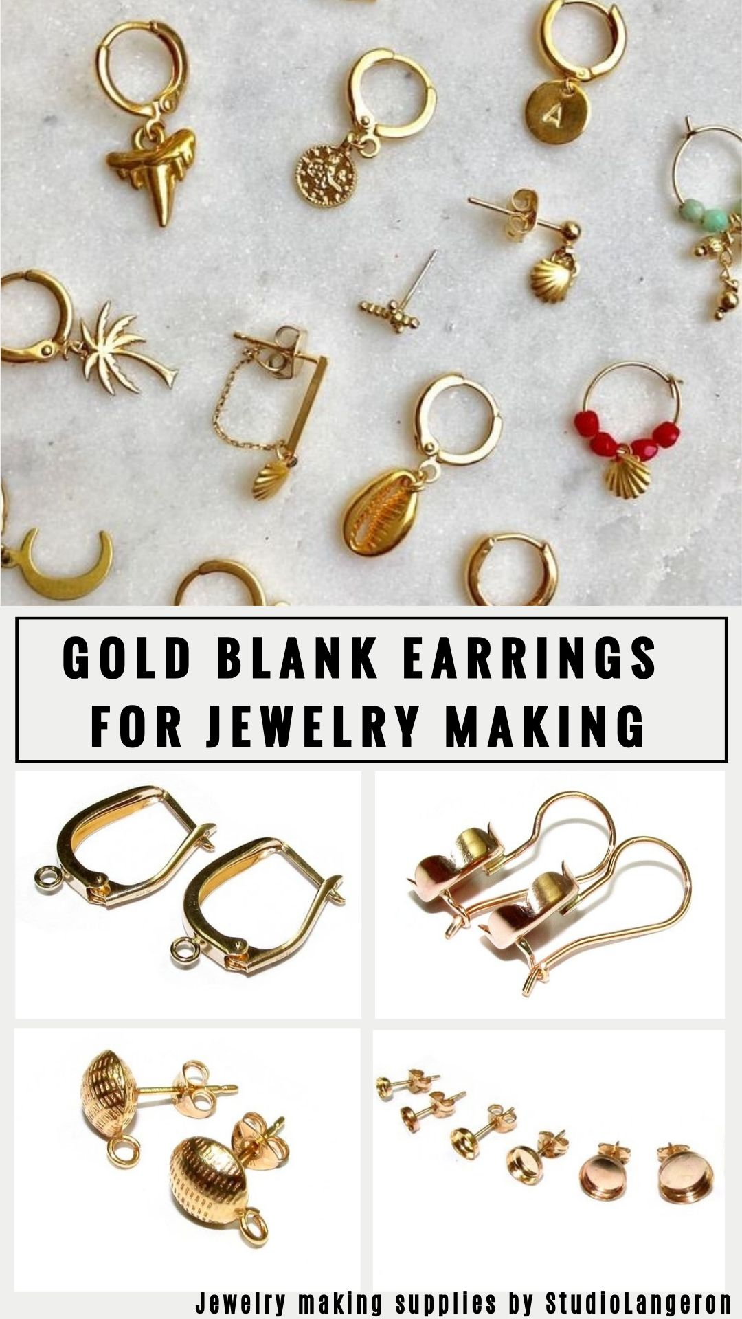 15+ Real gold jewelry making supplies info