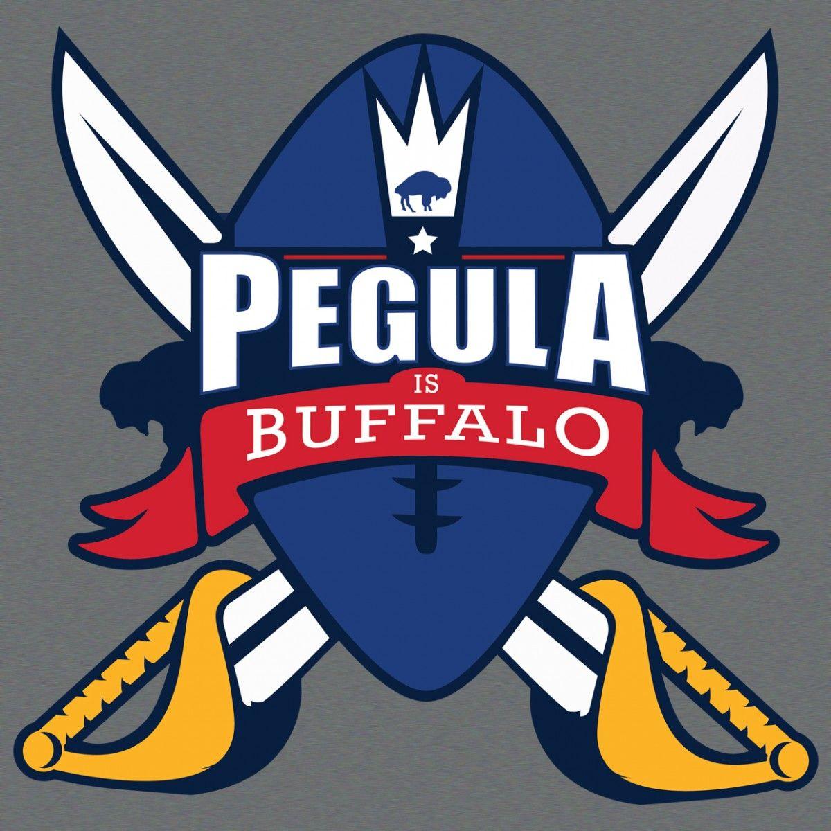 """23, """"PEGULA IS BUFFALO"""" Buffalo, Buffalo football"""