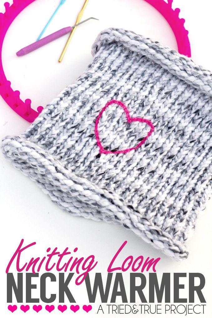 Knitting Loom Neck Warmer | Pinterest | Easy knitting, Loom knitting ...