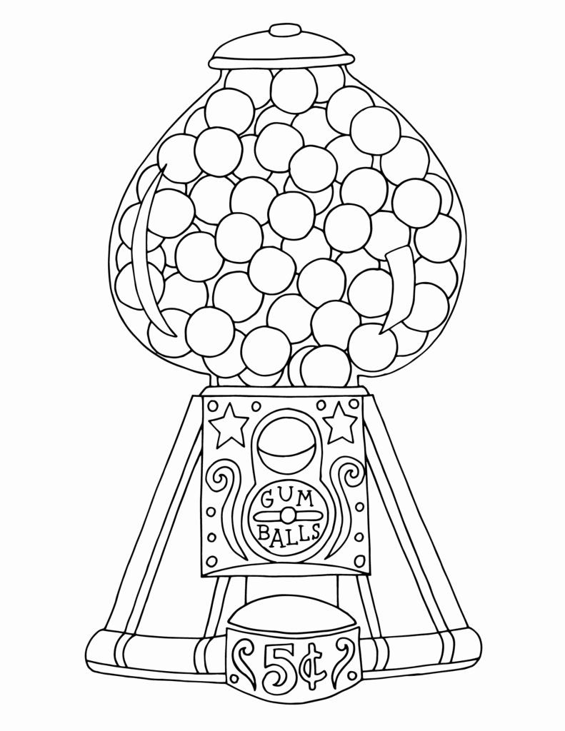 Gumball Machine Coloring Page Best Of Gumball Machine Coloring Pages Gumball Machine Elsa Coloring Pages Coloring Pages