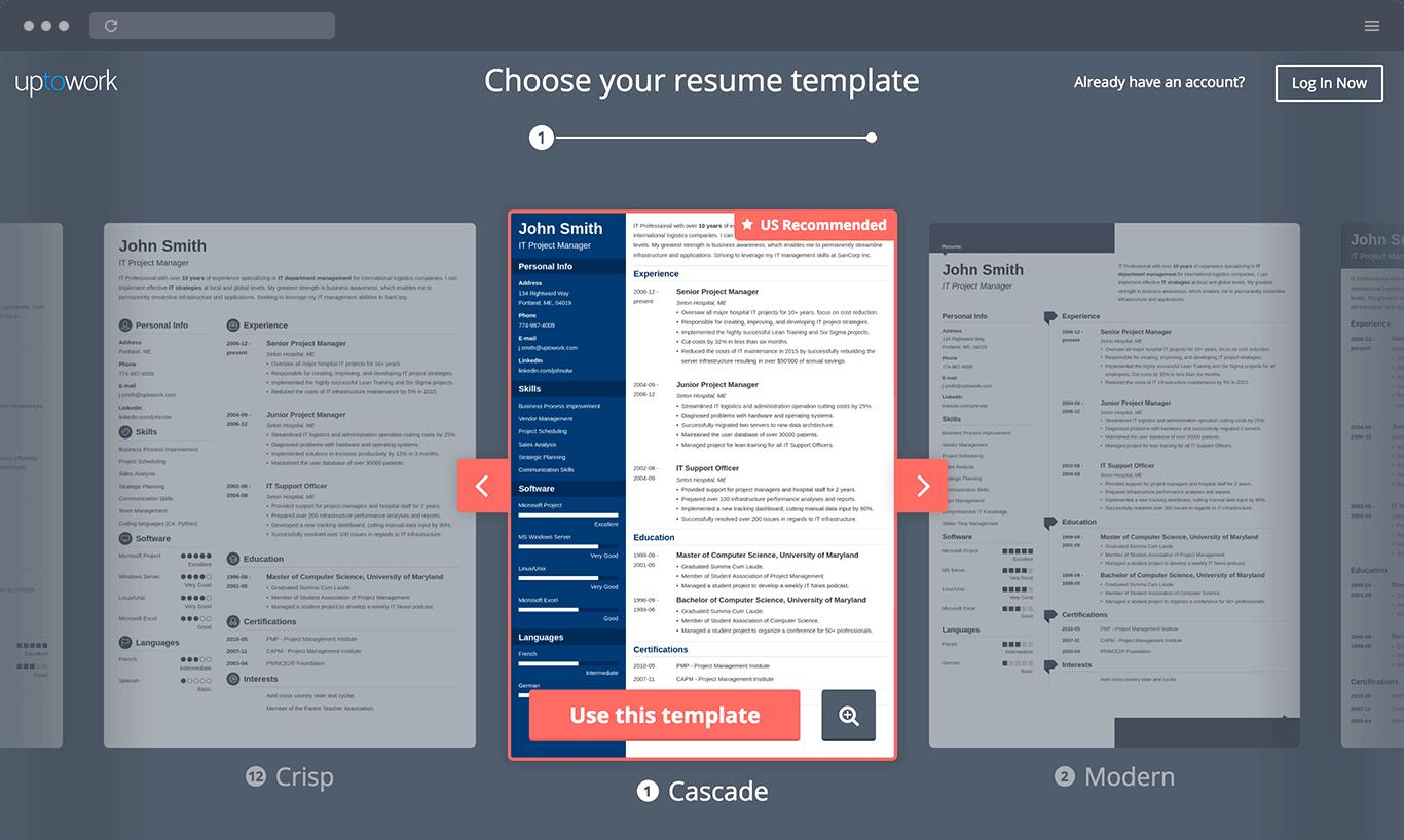 Cv Template Zety 2 Cv Template Pinterest Resume Resume
