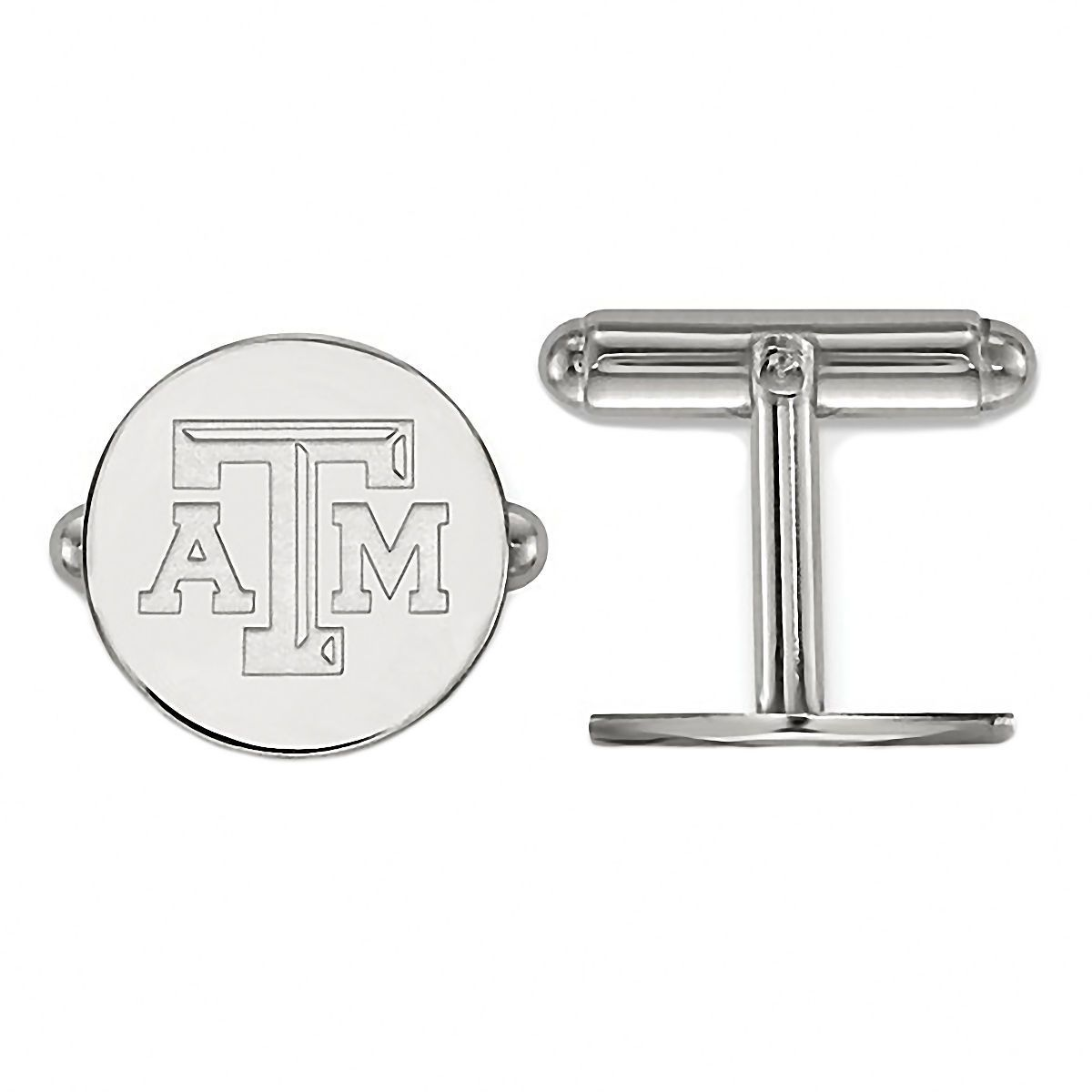 Texas A&M University 925 Sterling Silver Cufflinks Officially Licensed