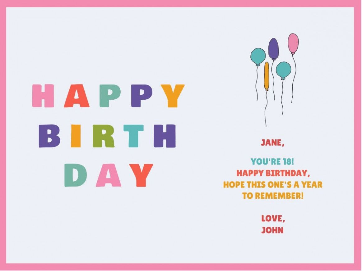 happy birthday card with name edit customize our birthday