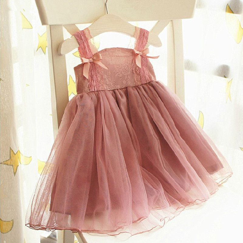 2015 Vintage Shabby Chic Girls Cute Little Girl Dresses