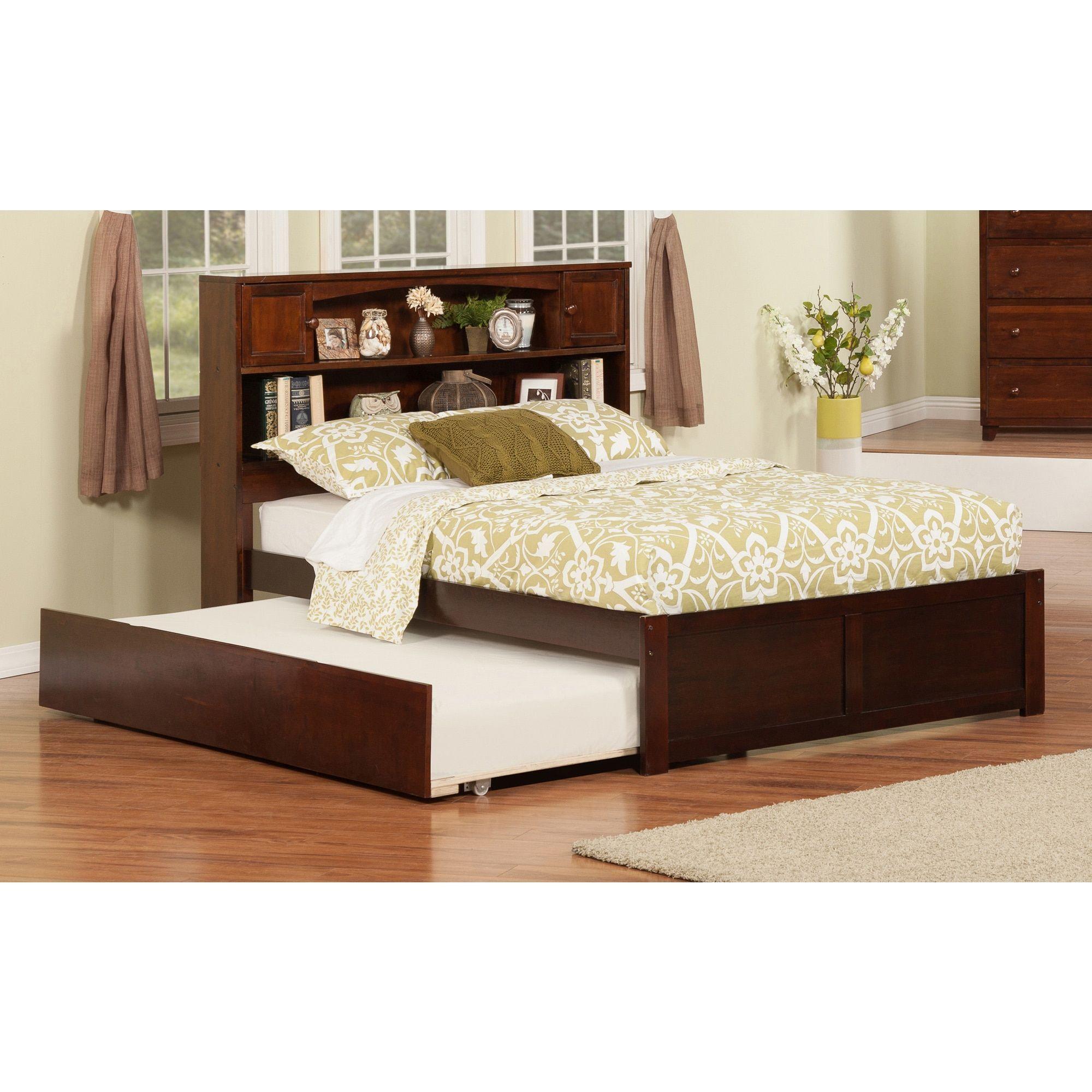 atlantic furniture newport walnut finish flat panel foot board with rh pinterest com