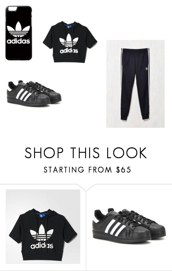 """""""Adidas Day"""" by thatbitch4ever ❤ liked on Polyvore featuring adidas"""
