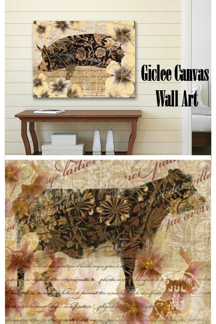Modern Farmhouse Canvas Wall Art