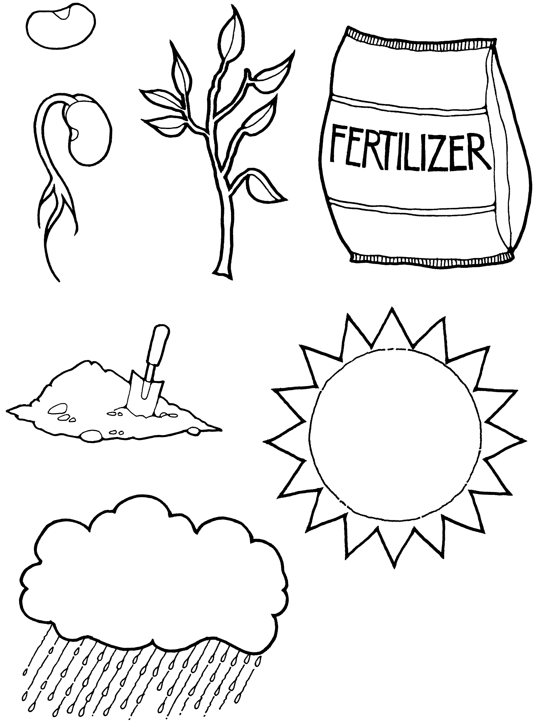 Coloring Page Faith And Testimony Alma 32 Lds Primary Lessons Coloring Pages Lds Coloring Pages