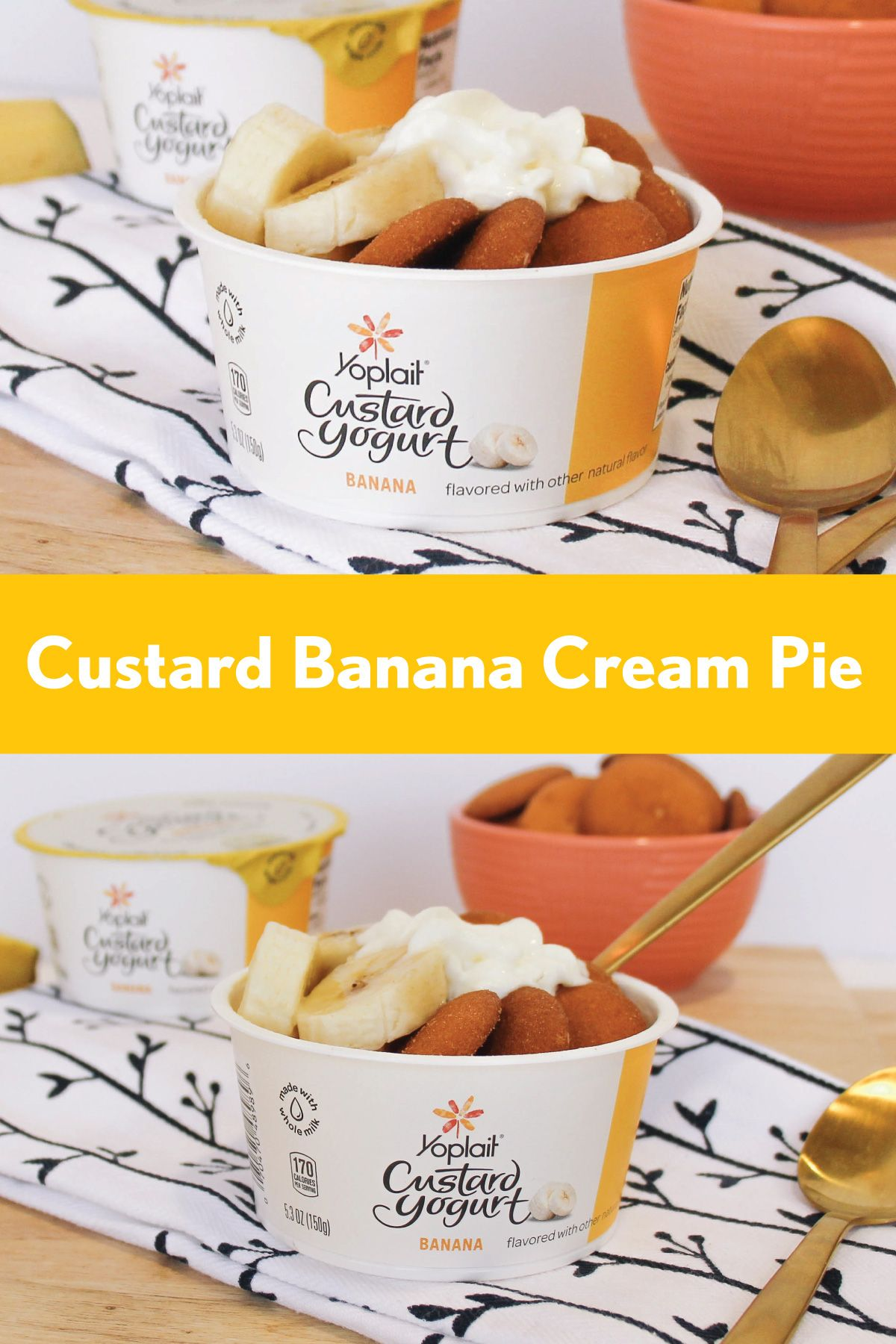 Banana Cream Pies are delicious and even better when