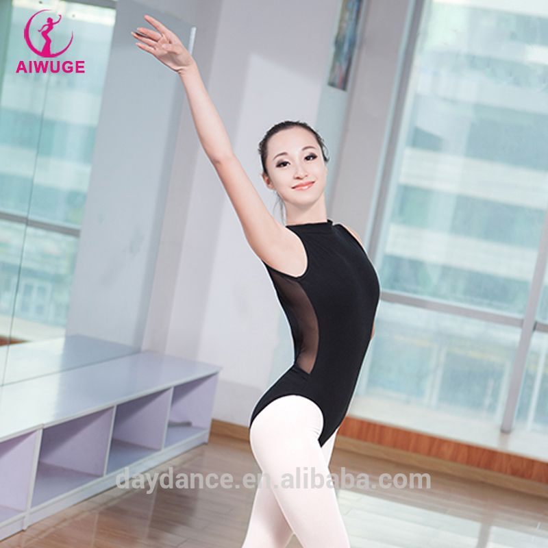 274f35fcffb9 2016 Girls Adults Sexy Backless Ballet Training Leotards Breathing ...