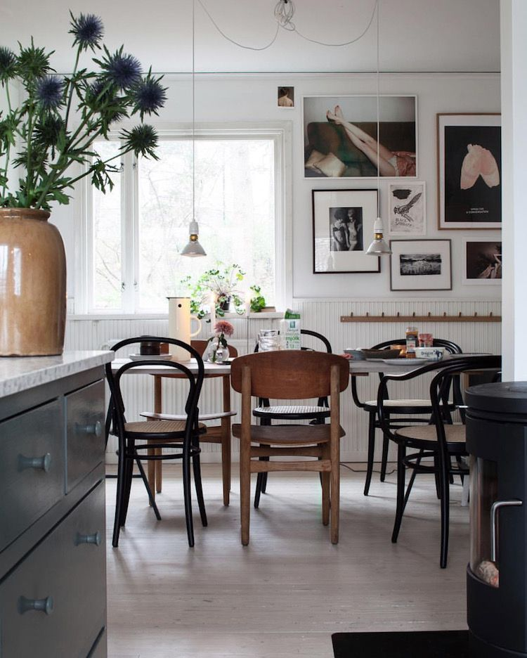 my scandinavian home green and pink accents in a beautiful swedish rh pinterest com