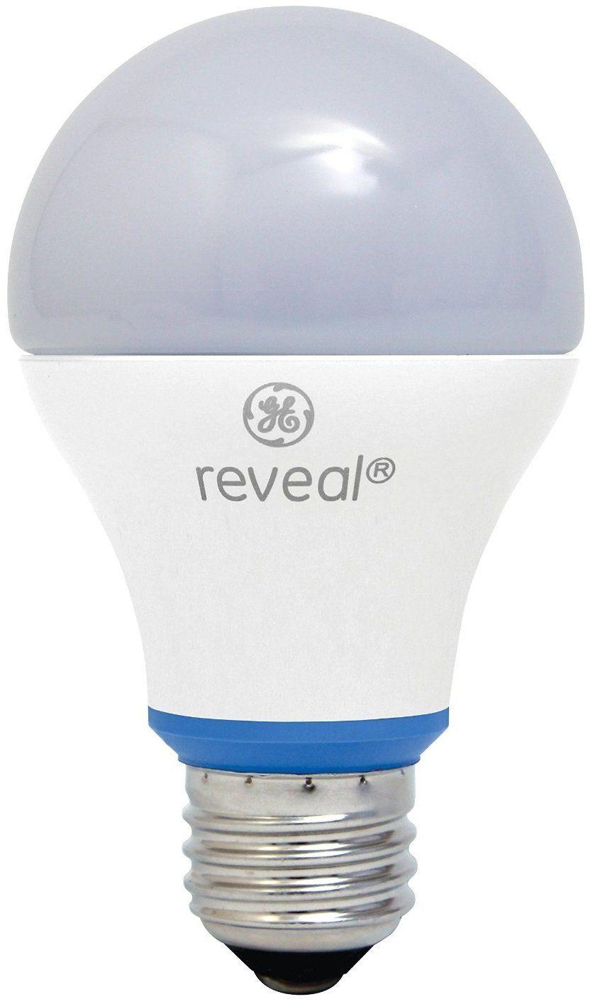 Ge Lighting 63180 A19 Reveal Led Light Bulb 11 Watts White