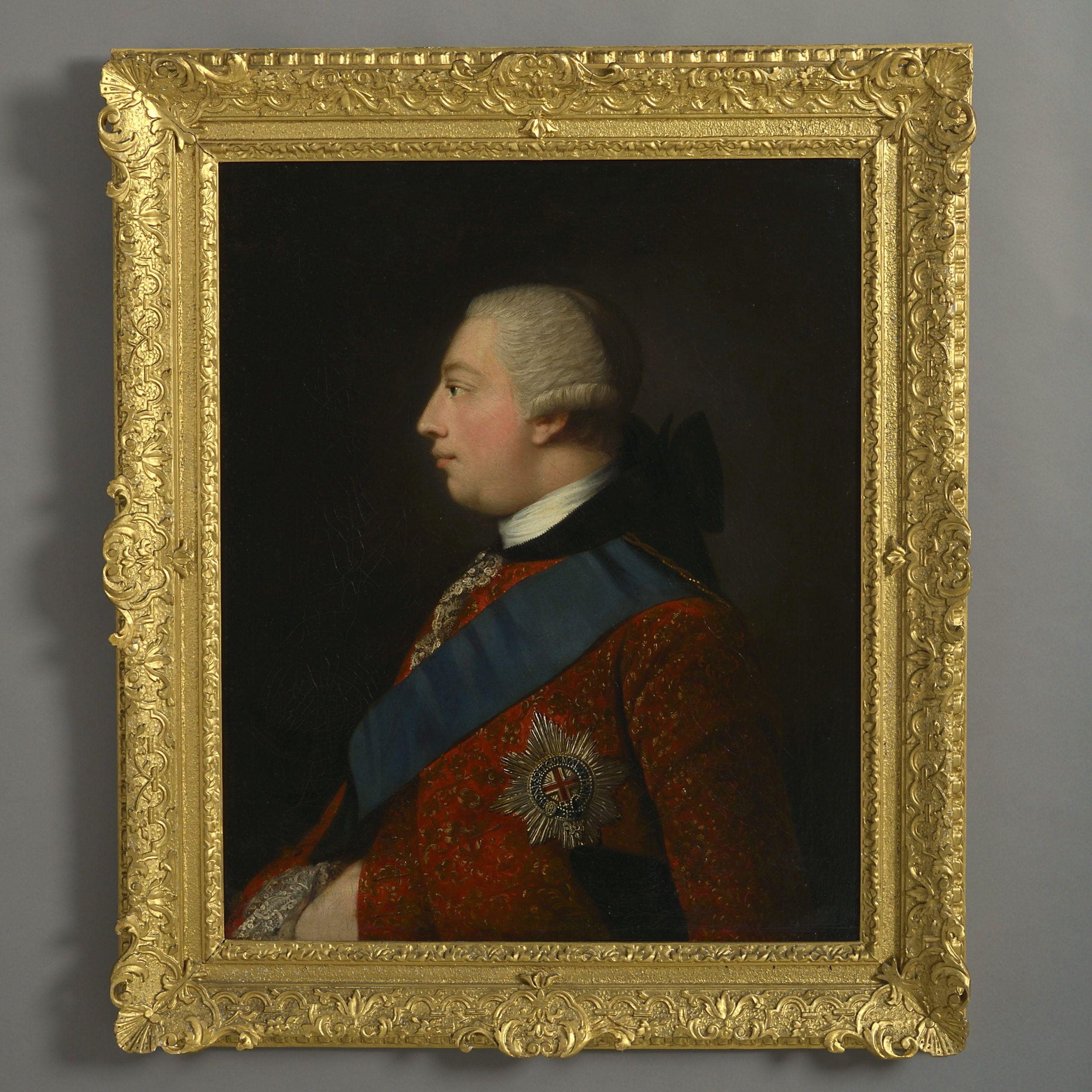 Studio of allan ramsay a portrait of king iii