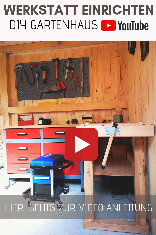 Werkstatt Einrichten Hacks Gartenhaus Mit Dachbegrunung Bauen Holzhutte Dach Bepflanzen Gartenhaus Selber Bauen Gartenhaus Selber Bauen