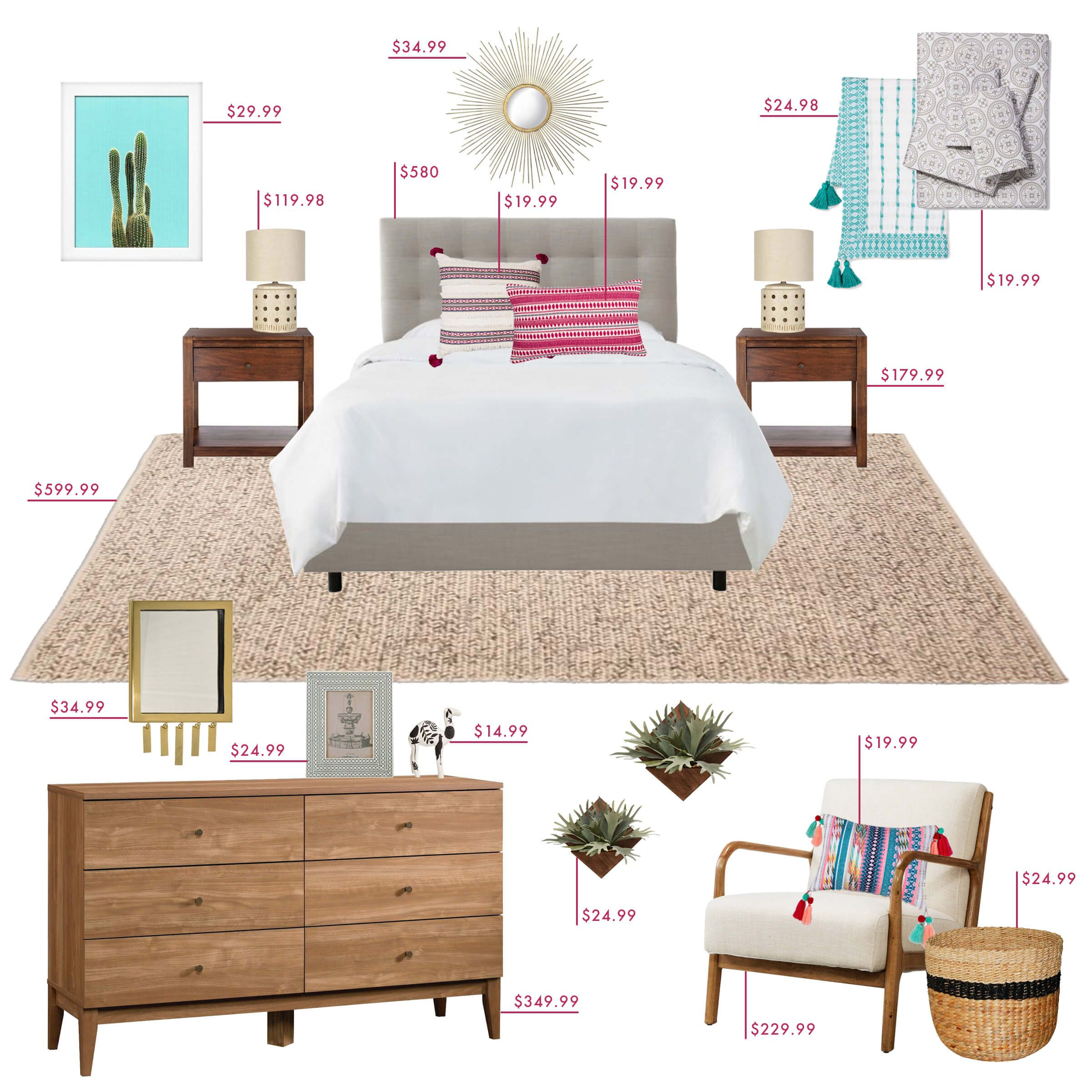 How To Refresh Your Bedroom On A Budget Emily Henderson Bedroom Styles Cheap Home Decor Simple Bedroom
