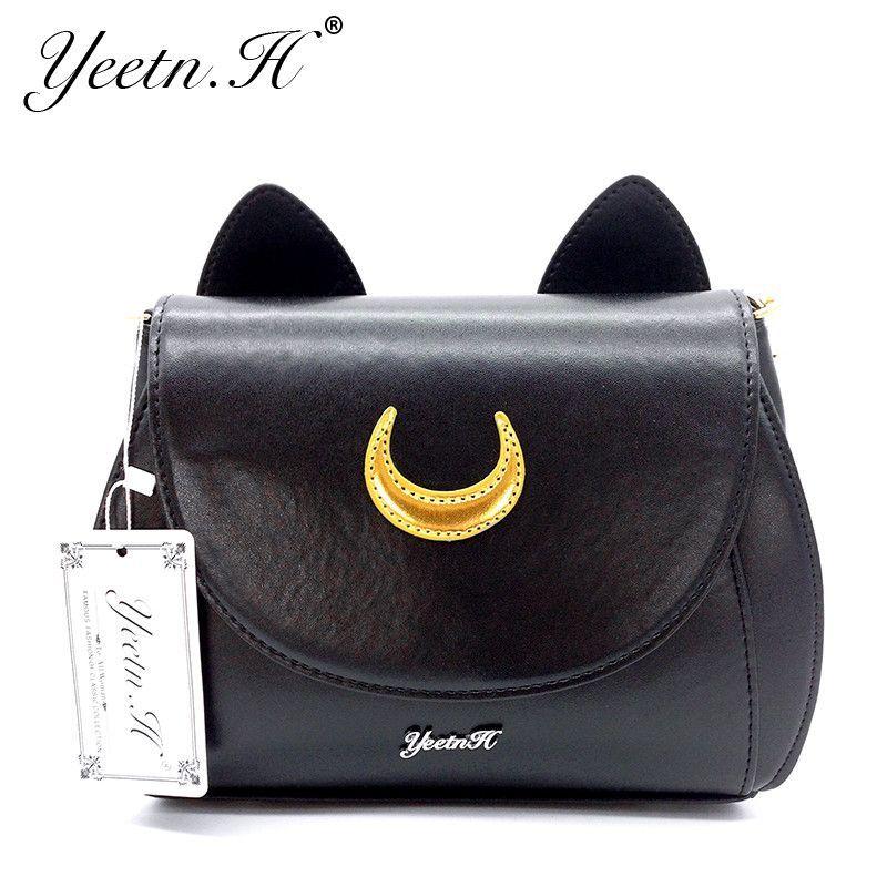 2017 New Arrival Luna Moon Cat Handbag