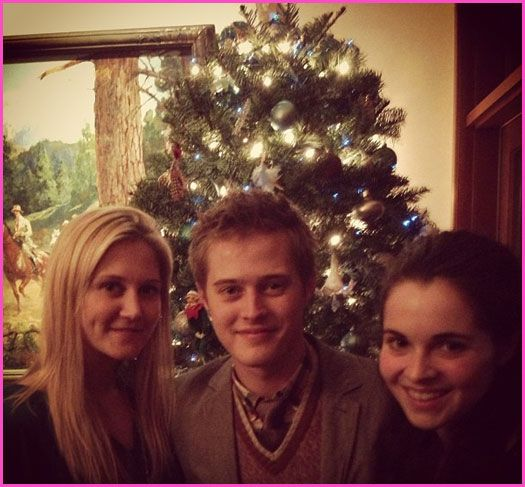 Lucas Grabeel Attends His Co-Star Lea Thompson's Holiday Party