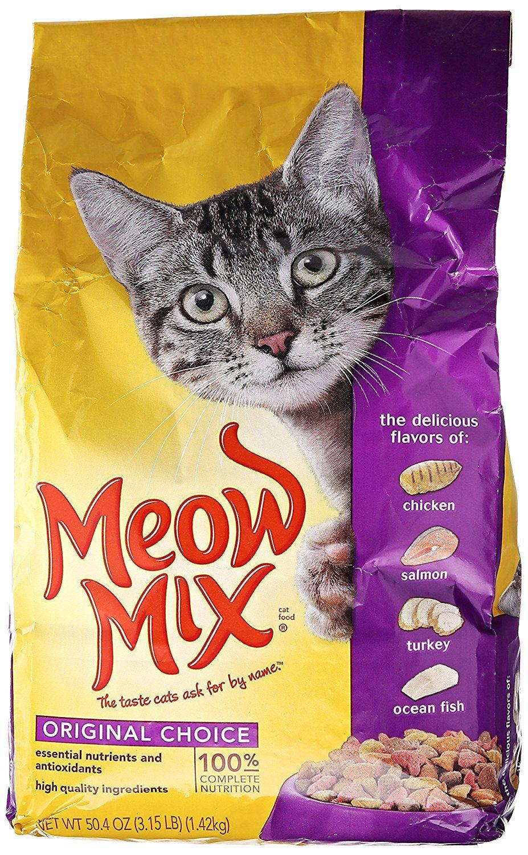 Meow Mix Original Choice Dry Cat Food, 3.15Pound Hurry