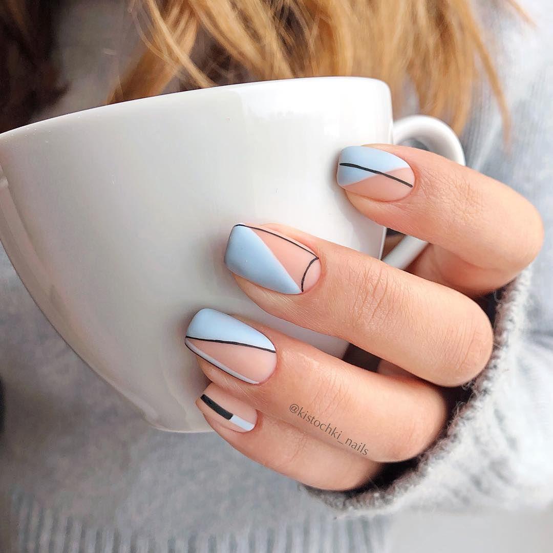 40 Cute Summer Nail Designs 2020 In 2020 Minimalist Nails Square Nail Designs Pretty Acrylic Nails