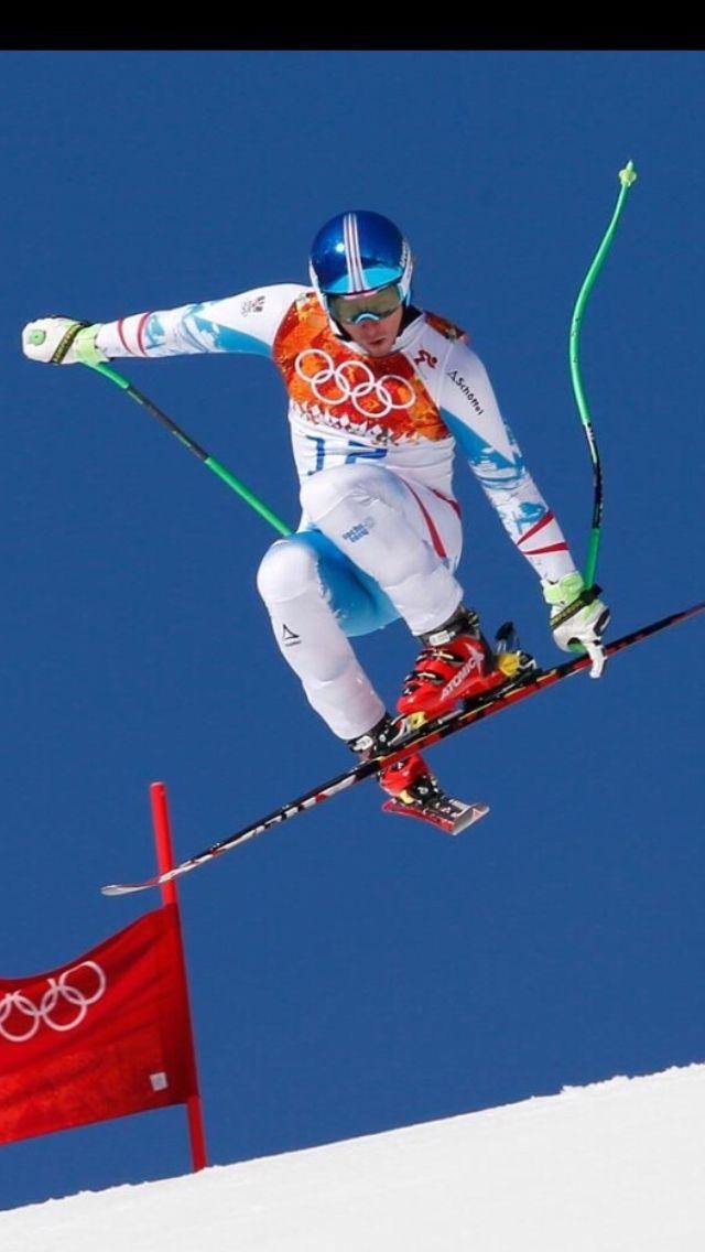 Max Franz steezin it in Sochi